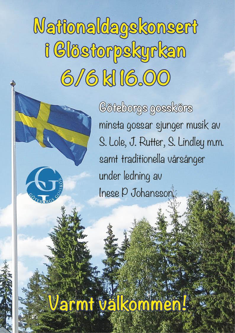Nationaldagskonsert 6/6 16:00